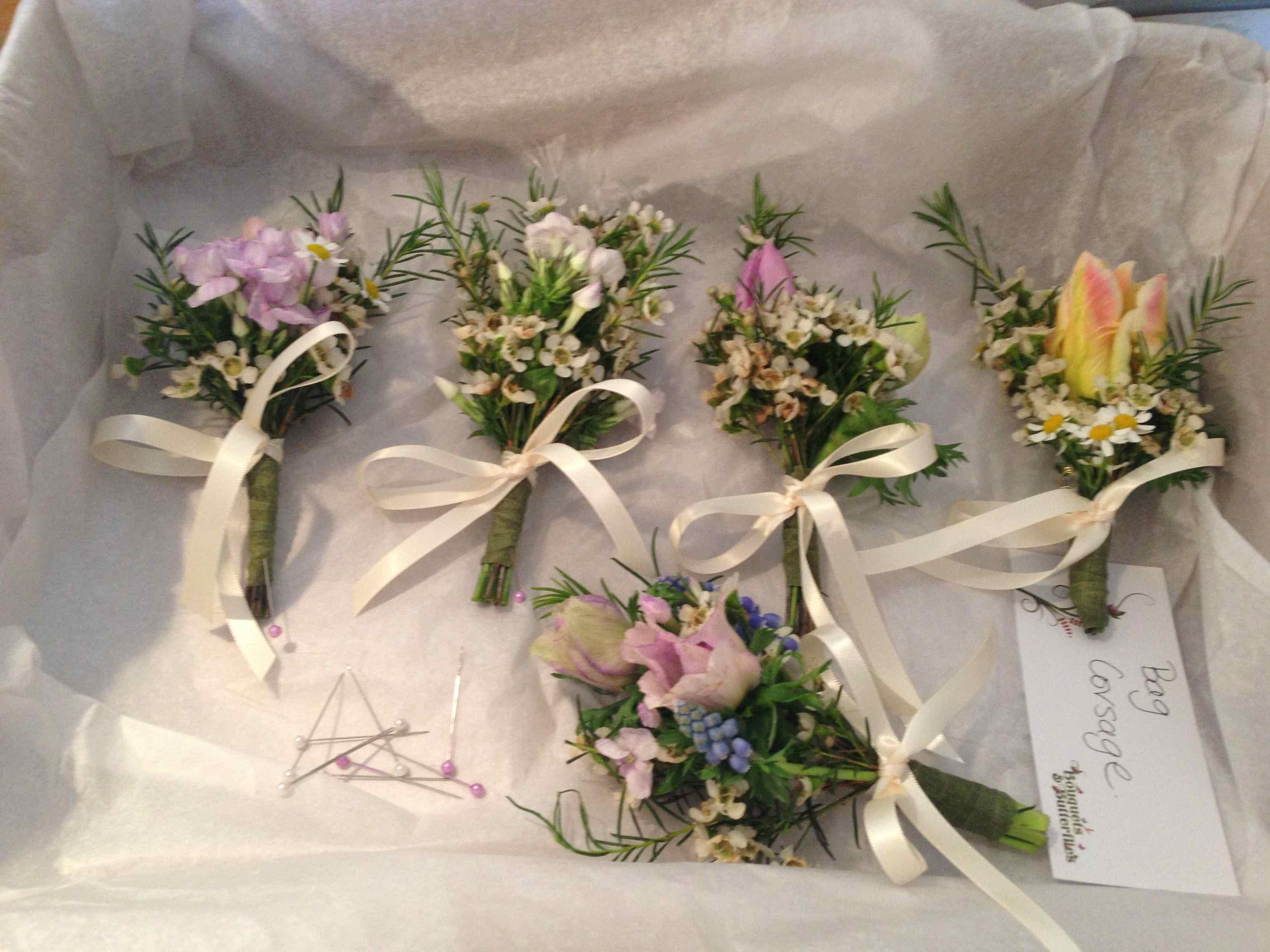 Cambridge Eco Wedding Flowers